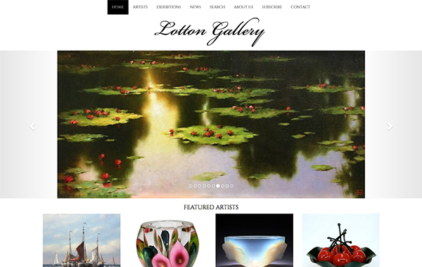 Click to open Lotton Gallery Website