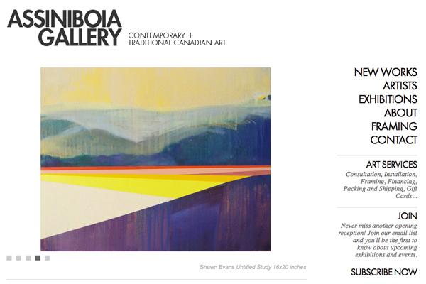 Click to open Assiniboia Gallery Website