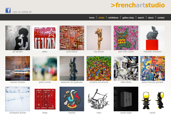 Click to open French Art Studio Website