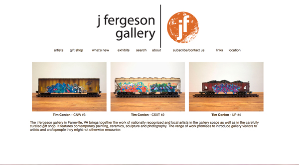 Click to open j fergeson gallery Website